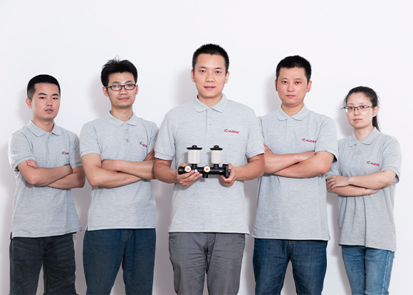the brake parts manufacturing team